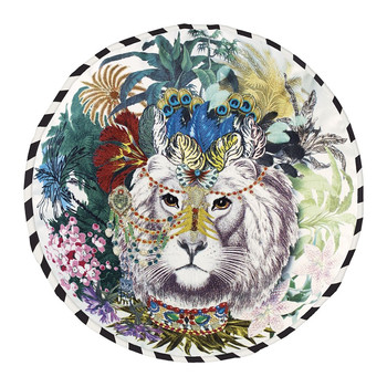 Opiat Round Cushion - 45cm - Jungle King