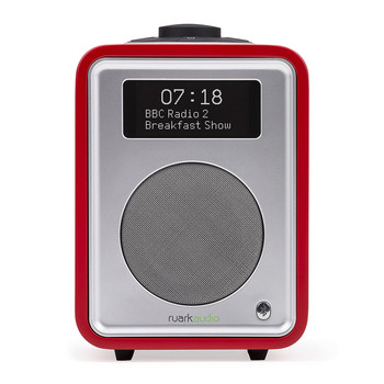 R1MK3 Deluxe Table Top Radio with Bluetooth - Swiss Red