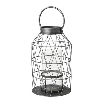 Efi Antique Grey Lantern