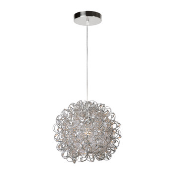 Noon Silver Pendant Light