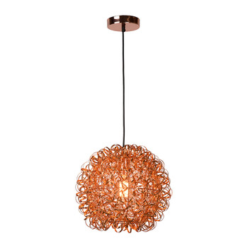 Noon Pendant Light - Red Copper