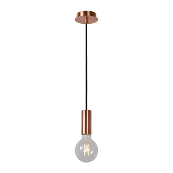 Droopy Pendant Light - Red Copper
