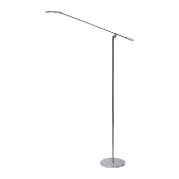 Stratos Floor Lamp - Silver
