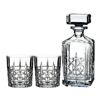 Marquis Brady Decanter & DOF Set
