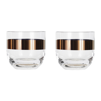 Tank Whisky Glass - Set of 2