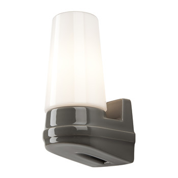 Bernadotte Single Wall Light - Grey