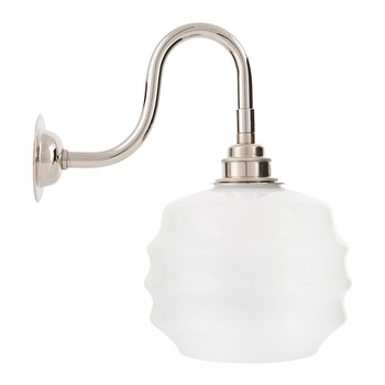 Industrial Opal Wall Light - Deco