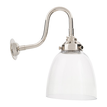 Industrial Glass Wall Light - Bell
