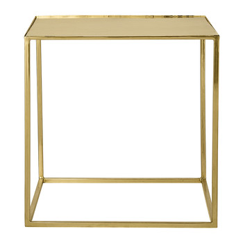 Cube Sidetable - Gold