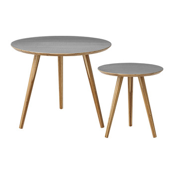 Cortado Coffee Tables - Set of 2 - Grey