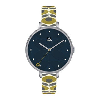 Ivy Floral Strap Watch - Green