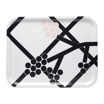 Hortensie Tray - White/Black/Pink