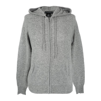 Kangaroo Pocket Hooded Sweatshirt - Gray