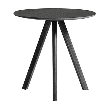 Copenhague Round Table - Ø50cm - Oak Black