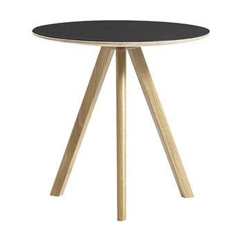 Copenhague Round Table - Ø50cm - Matt Black