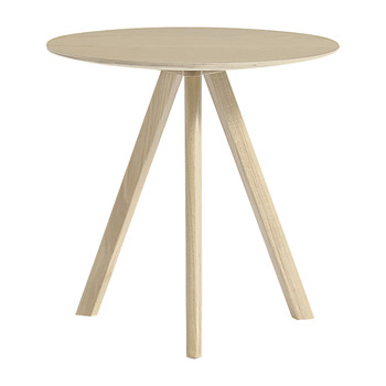 Copenhague Round Table - Ø50cm - Oak Matt Lacquer