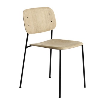 Soft Edge 10 Chair - Oak/Black