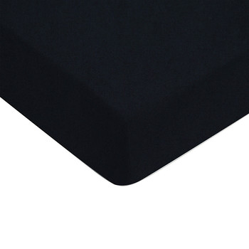 100% Cotton Sateen Fitted Sheet - Navy