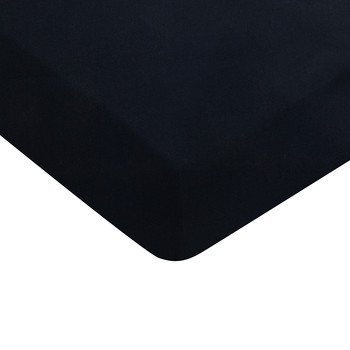 Color Block Fitted Sheet - Navy