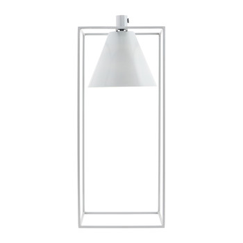 Kubix Table Lamp - Grey/White