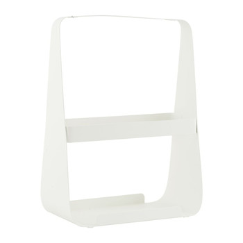 Magazine Holder - White