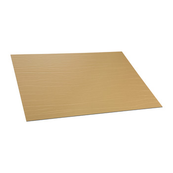 Recycled Leather Placemat - Gold
