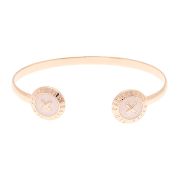 Eida Double Button Cuff - Baby Pink