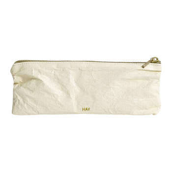 Packing Essentials Rectangular Small Zip Bag - Soft Yellow