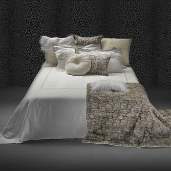 New Gold Bed Set - Super King - Ecru