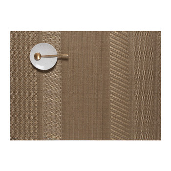 Mixed Weave Luxe Placemat - Gold