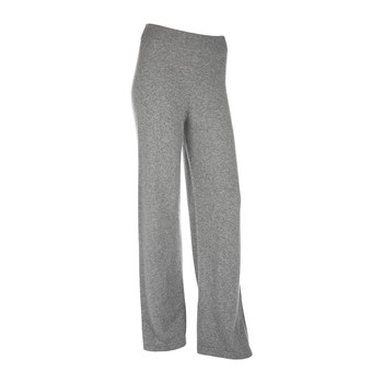 Women's Cashmere Jersey Lounge Trousers - Gray
