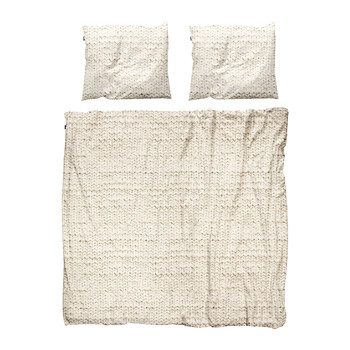Twirre Duvet Set - Natural - Double
