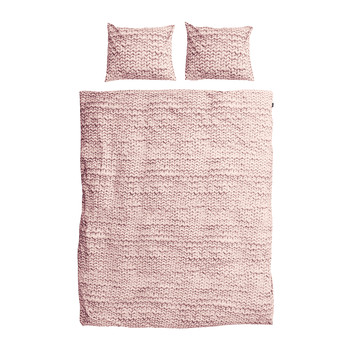 Twirre Duvet Set - Dusty Pink - Double