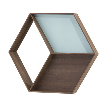 Wonder Wall Mirror - Smoked Oak