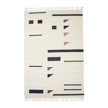 Kelim Color Triangles Rug