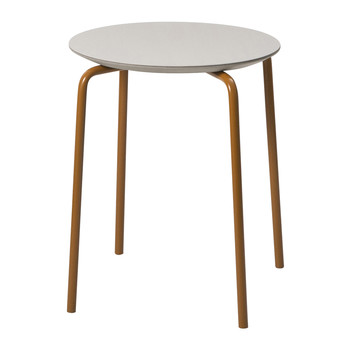 Herman Stool - Light Grey/Ochre