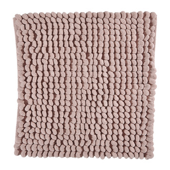 Luka Bath Mat - Dusty Pink - 60x60cm