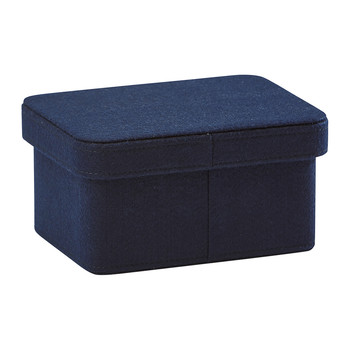 Imago Storage Basket - Dark Blue