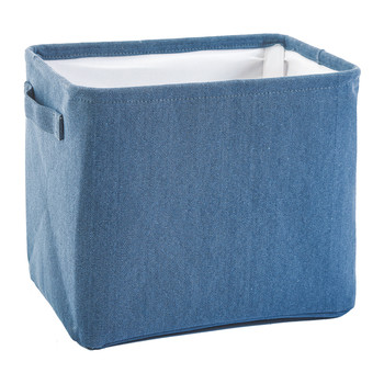 Tur Storage Basket - Denim Blue