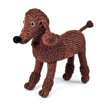 Crochet Poodle - Choco