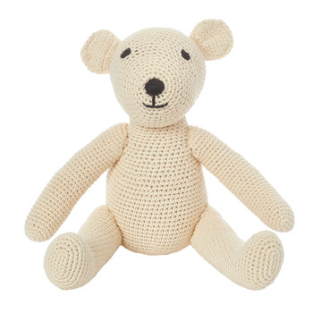 Crochet Teddy - Natural