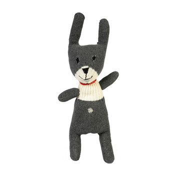Crochet New Small Rabbit - Dark Gray