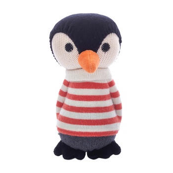 Lars Penguin Toy with Bell - Mandarin