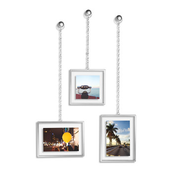 Fotochain Wall Photo Display - Nickel
