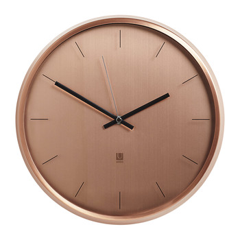 Meta Wall Clock - Copper