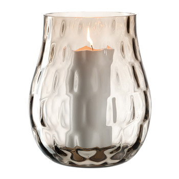 Hurricane Lamp - Brown - 22cm