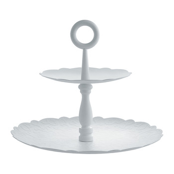 Dressed for Xmas White Cake Stand