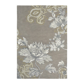 Fabled Floral - Gray
