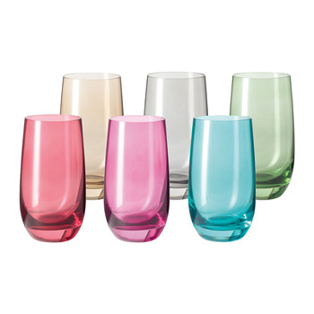 Sora Long Tumbler - Assorted - Set of 6