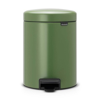 NewIcon Pedal Bin - 5 Litres - Moss Green